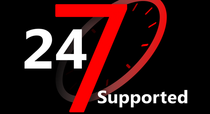پشتیبانی 24 ساعته