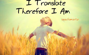 من مترجم هستم